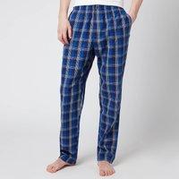 Calvin Klein Men's Sleep Pants - Plaid Purple Night - L