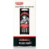 Uppercut Deluxe Pomade and Salt Spray Duo