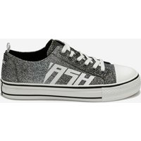 Ash Women's Vanda Degrade Glitter Trainers - Black/Silver - EU 41/UK 8