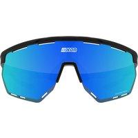 Scicon Aerowing Road Sunglasses - Black Gloss - Multimirror Blue