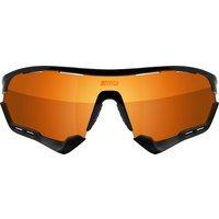 Scicon Aerotech Xl Road Sunglasses - Black Gloss - Multilaser Bronze