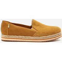 TOMS Women's Palma Slip-On Pumps - Gold - UK 4