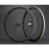 Spinergy Stealth FCC 4.7 Carbon Clincher Disc Wheelset - Shimano