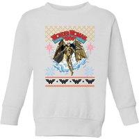 Wonder Women 1984 Kids' Sweatshirt - White - 9-10 Years - White