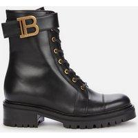 Balmain Women's Ranger Boot Leather - Black - UK 6