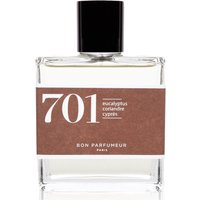 Bon Parfumeur 701 Eucalyptus Coriander Cypress Eau de Parfum (Various Sizes) - 100ml
