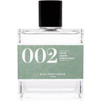 Bon Parfumeur 002 Neroli, Jasmine, White Amber Eau de Parfum (Various Sizes) - 100ml