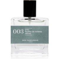 Bon Parfumeur 003 Yuzu Violet Leaves Vetiver Eau de Parfum (Various Sizes) - 30ml