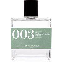 Bon Parfumeur 003 Yuzu Violet Leaves Vetiver Eau de Parfum (Various Sizes) - 100ml