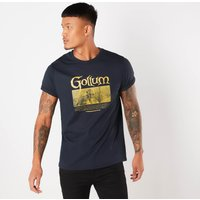 Lord Of The Rings Gollum Mens T-Shirt - Navy - XL - Navy