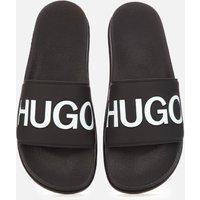 HUGO Men's Match Slide Sandals - Black - UK 10