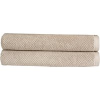 Christy Brixton Towel - Set of 2 - Pebble - Bath Towel - Set of 2
