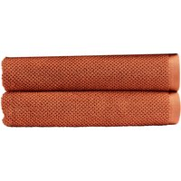 Christy Brixton Towel - Set of 2 - Terracotta - Bath Towel - Set of 2
