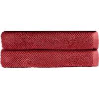 Christy Brixton Towel - Set of 2 - Pomegranate - Bath Towel - Set of 2