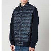 Polo Ralph Lauren Men's Double Knitted Full Zip Jacket - Navy Herringbone - XL