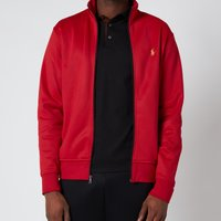 Polo Ralph Lauren Mens Lux Full Zip Track Top - Ralph Red - XXL