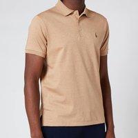 Polo Ralph Lauren Men's Interlock Pima Polo Shirt - Classic Camel Heather - S