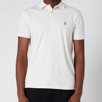 Polo Ralph Lauren Mens Interlock Pima Polo Shirt - Antique Cream - M