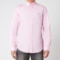 Polo Ralph Lauren Mens Slim Fit Chino Shirt - Carmel Pink - M