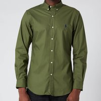 Polo Ralph Lauren Men's Slim Fit Poplin Shirt - Supply Olive - XL