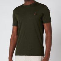 Polo Ralph Lauren Mens Custom Slim Interlock T-Shirt - Estate Olive - XL