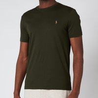Polo Ralph Lauren Men's Custom Slim Interlock T-Shirt - Estate Olive - L