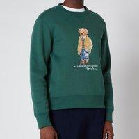 Polo Ralph Lauren Men's Magic Fleece Polo Bear Sweatshirt - Washed Forest - M