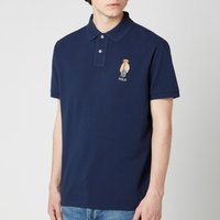 Polo Ralph Lauren Men's Polo Bear Slim Fit Polo Shirt - Newport Navy - XXL