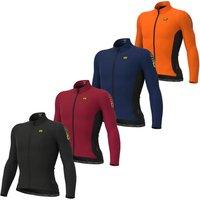 Ale Clima Protection 2.0 Warm Race Long Sleeve Jersey - XL - Fluro Orange