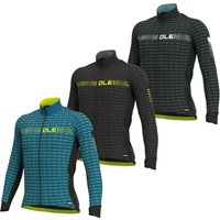Ale Graphics Prr Green Road Winter Long Sleeve Jersey - XXL - Black/White