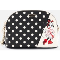 Kate Spade New York Women's Minnie Mouse Small Dome Cross Body Bag - Black Multi