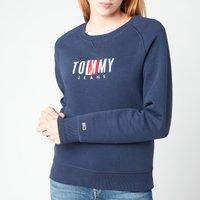 Tommy Jeans Women's TJW Bxy Timeless Sweatshirt - Twilight Navy - S