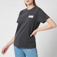 Tommy Jeans Women's TJW Relaxed New York Back Print T-Shirt - Black - L