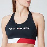 Tommy Sport Women's Mid Intensity CB Racer Bra - Desert Sky - S