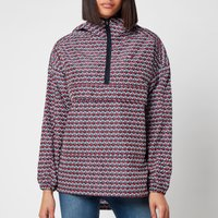 Tommy Sport Womens Pullover AOP PLY Jacket - Th Cube All Ove