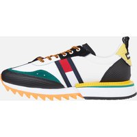 Tommy Jeans Men's Fashion Colour Mix Running Style Trainers - Solar Flare - UK 7