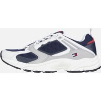 Tommy Jeans Men's Archive Mesh Running Style Trainers - Twilight Navy - UK 10