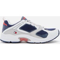 Tommy Jeans Men's Archive Mesh Running Style Trainers - Twilight Navy - UK 8