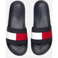 Tommy Hilfiger Men's Essential Flag Pool Slide Sandals - Desert Sky - UK 10.5