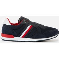 Tommy Hilfiger Men's Iconic Material Mix Running Style Trainers - Desert Sky - UK 11