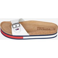 Tommy Jeans Women's Flag Outsole Mule Sandals - White - UK 6