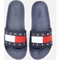 Tommy Jeans Women's Flag Pool Slide Sandals - Twilight Navy - UK 7