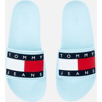 Tommy Jeans Women's Flag Pool Slide Sandals - Sail Blue - UK 4