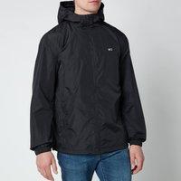 Tommy Jeans Mens Packable Windbreaker Jacket - Black - S