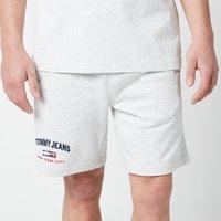 Tommy Jeans Men's Timeless Shorts - Silver Grey HTR - L