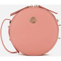 Tommy Hilfiger Womens Modern Hardware Round Crossover - Rosette
