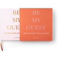 Printworks Guest Book - Rust/Pink