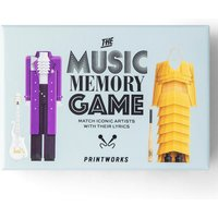 Printworks Memory Music Game