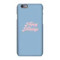 Happy Holidays Phone Case for iPhone and Android - Samsung Note 8 - Snap Case - Matte