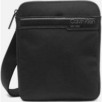 Calvin Klein Mens Flat Pack Shoulder Bag - CK Black